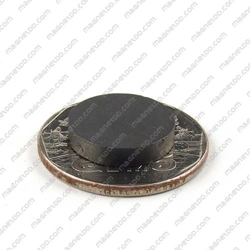แม่เหล็กเฟอร์ไรท์ Ferrite ขนาด 15mm x 3mm แม่เหล็กถาวรเฟอร์ไรท์ (แม่เหล็กดำ) Ferrite