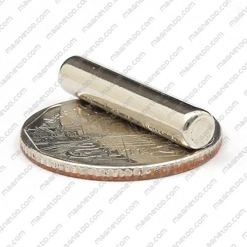 แม่เหล็กแรงสูง Neodymium ขนาด 5mm x 25mm แม่เหล็กถาวรนีโอไดเมี่ยม NdFeB (Neodymium)