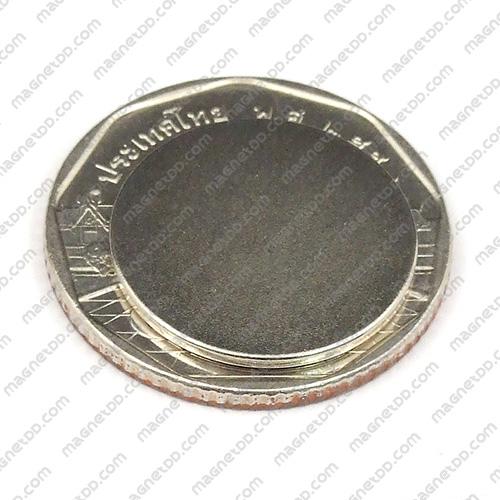 แม่เหล็กแรงสูง Neodymium ขนาด 18mm x 1mm แม่เหล็กถาวรนีโอไดเมี่ยม NdFeB (Neodymium)