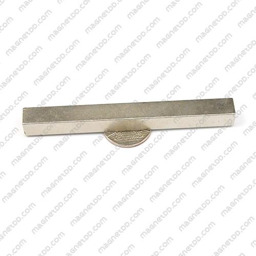 แม่เหล็กแรงสูง Neodymium ขนาด 100mm x 10mm x 10mm แม่เหล็กถาวรนีโอไดเมี่ยม NdFeB (Neodymium)