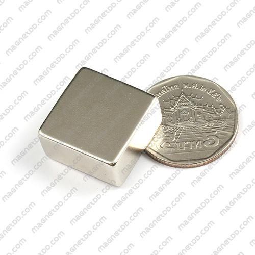 แม่เหล็กแรงสูง Neodymium ขนาด 20mm x 20mm x 10mm แม่เหล็กถาวรนีโอไดเมี่ยม NdFeB (Neodymium)