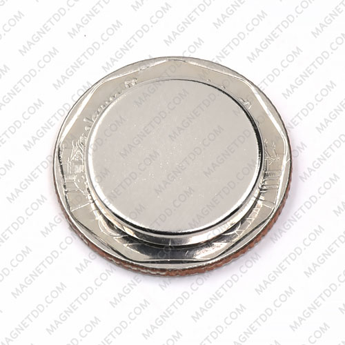 แม่เหล็กแรงสูง Neodymium ขนาด 18mm x 3mm แม่เหล็กถาวรนีโอไดเมี่ยม NdFeB (Neodymium)