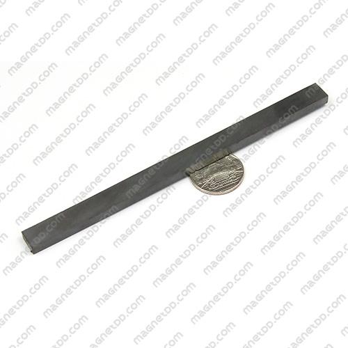 แม่เหล็กเฟอร์ไรท์ Ferrite ขนาด 150mm x 10mm x 5mm แม่เหล็กถาวรเฟอร์ไรท์ (แม่เหล็กดำ) Ferrite