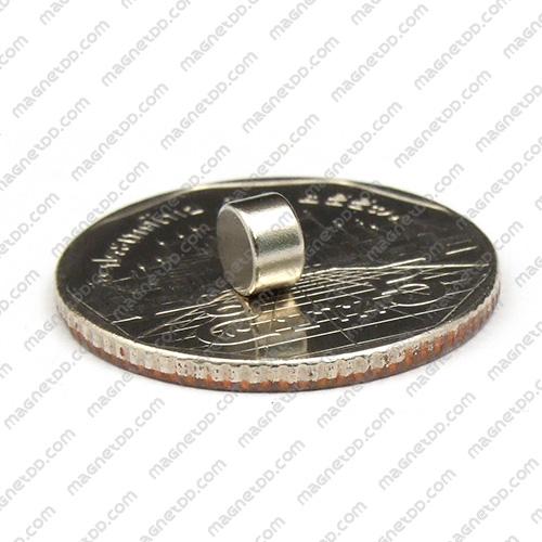 แม่เหล็กแรงสูง Neodymium ขนาด 5mm x 3mm แม่เหล็กถาวรนีโอไดเมี่ยม NdFeB (Neodymium)