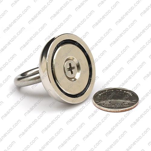 Mounting Magnet ขนาด 36mm พร้อมห่วง แม่เหล็กถาวรนีโอไดเมี่ยม NdFeB (Neodymium)