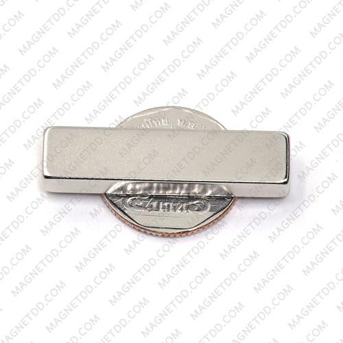 แม่เหล็กแรงสูง Neodymium ขนาด 40mm x 10mm x 5mm แม่เหล็กถาวรนีโอไดเมี่ยม NdFeB (Neodymium)