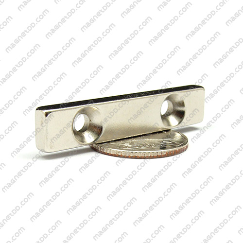 แม่เหล็กแรงสูง Neodymium ขนาด 49mm x 9.5mm x 4.75mm รู 4mm แม่เหล็กถาวรนีโอไดเมี่ยม NdFeB (Neodymium)