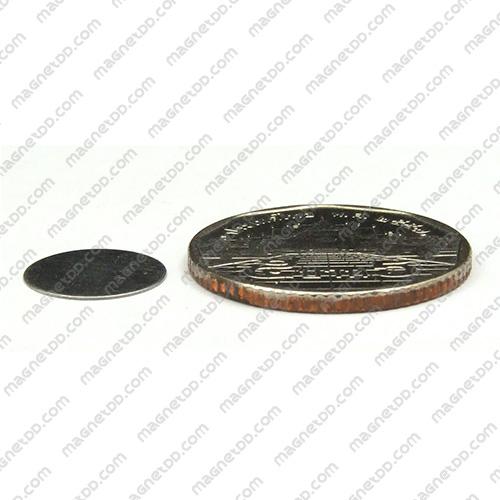 แผ่นเหล็กกลมแบน Iron Sheet 12mm x 0.25mm [100ชิ้น]