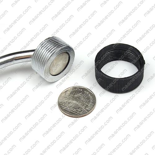 ด้ามจับแม่เหล็กแรงสูง Magnetic Handle - 27mm แม่เหล็กถาวรนีโอไดเมี่ยม NdFeB (Neodymium)