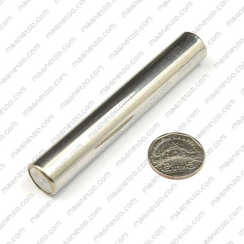 แมกเนติกบาร์ ขนาด 15.5mm x 100mm Magnetic Bar 4,500G แม่เหล็กถาวรนีโอไดเมี่ยม NdFeB (Neodymium)