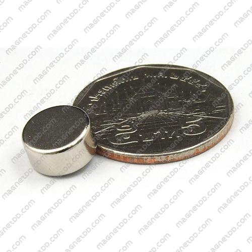 แม่เหล็กแรงสูง Neodymium ขนาด 10mm x 5mm แม่เหล็กถาวรนีโอไดเมี่ยม NdFeB (Neodymium)
