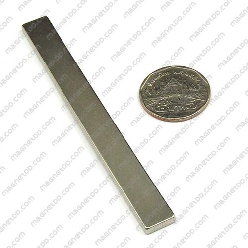 แม่เหล็กแรงสูง Neodymium ขนาด 100mm x 10mm x 3mm แม่เหล็กถาวรนีโอไดเมี่ยม NdFeB (Neodymium)