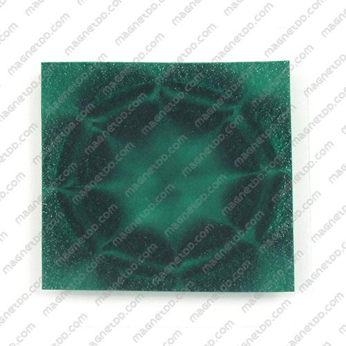 ฟิมล์แสดงเส้นแม่เหล็ก Magnetic Fields View Film - 100mm x 100mm