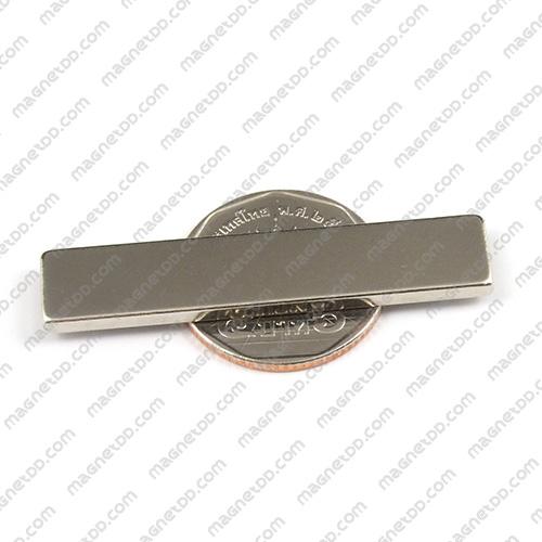 แม่เหล็กแรงสูง Neodymium ขนาด 50mm x 10mm x 2.5mm แม่เหล็กถาวรนีโอไดเมี่ยม NdFeB (Neodymium)