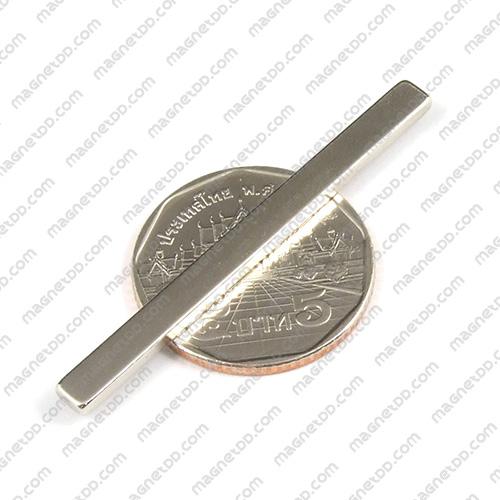 แม่เหล็กแรงสูง Neodymium ขนาด 50mm x 4mm x 2mm แม่เหล็กถาวรนีโอไดเมี่ยม NdFeB (Neodymium)