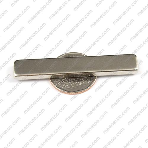แม่เหล็กแรงสูง Neodymium ขนาด 60mm x 10mm x 4mm แม่เหล็กถาวรนีโอไดเมี่ยม NdFeB (Neodymium)