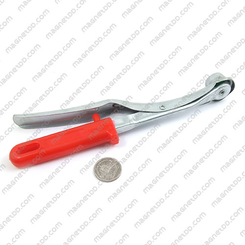 อุปกรณ์จับยก หัวแม่เหล็ก แบบ 1หัว ขนาด 230mm. แม่เหล็กถาวรนีโอไดเมี่ยม NdFeB (Neodymium)