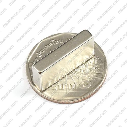แม่เหล็กแรงสูง Neodymium ขนาด 20mm x 10mm x 4mm แม่เหล็กถาวรนีโอไดเมี่ยม NdFeB (Neodymium)