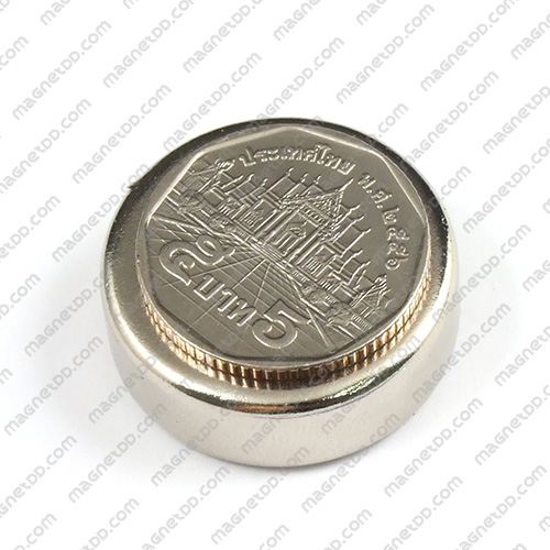 แม่เหล็กแรงสูง Neodymium ขนาด 29mm x 10mm วงใน 6mm แม่เหล็กถาวรนีโอไดเมี่ยม NdFeB (Neodymium)