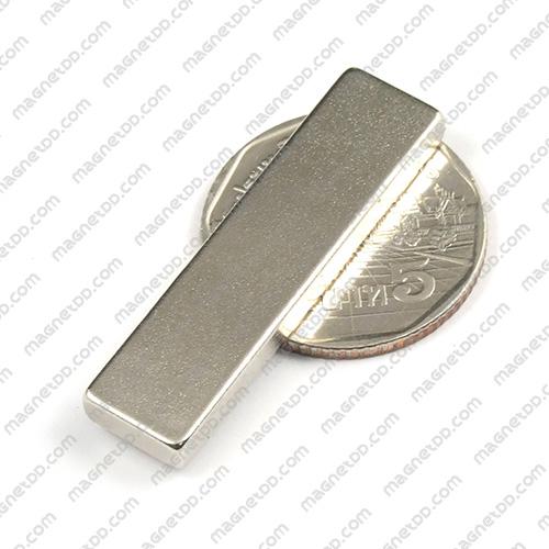 แม่เหล็กแรงสูง Neodymium ขนาด 39mm x 9.75mm x 3.75mm แม่เหล็กถาวรนีโอไดเมี่ยม NdFeB (Neodymium)