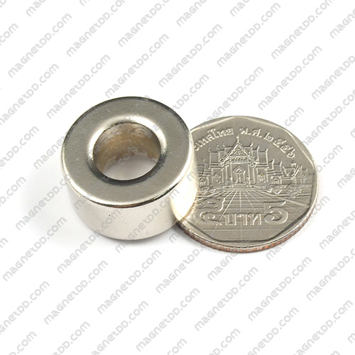 แม่เหล็กแรงสูง Neodymium 20mm x 10mm วงใน 10mm แม่เหล็กถาวรนีโอไดเมี่ยม NdFeB (Neodymium)