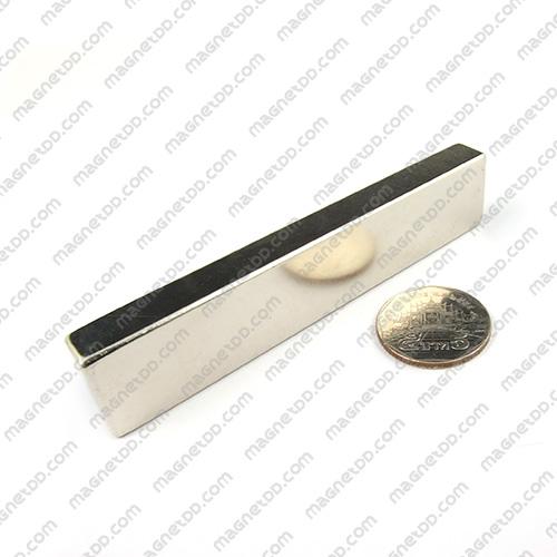 แม่เหล็กแรงสูง Neodymium ขนาด 99mm x 19mm x 10mm แม่เหล็กถาวรนีโอไดเมี่ยม NdFeB (Neodymium)