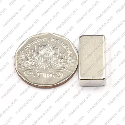 แม่เหล็กแรงสูง Neodymium ขนาด 20mm x 10mm x 5mm แม่เหล็กถาวรนีโอไดเมี่ยม NdFeB (Neodymium)