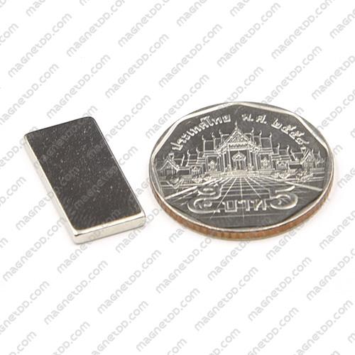 แม่เหล็กแรงสูง Neodymium ขนาด 20mm x 10mm x 2mm แม่เหล็กถาวรนีโอไดเมี่ยม NdFeB (Neodymium)