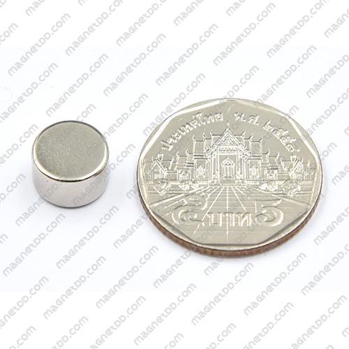 แม่เหล็กแรงสูง Neodymium ขนาด 10mm x 6mm แม่เหล็กถาวรนีโอไดเมี่ยม NdFeB (Neodymium)