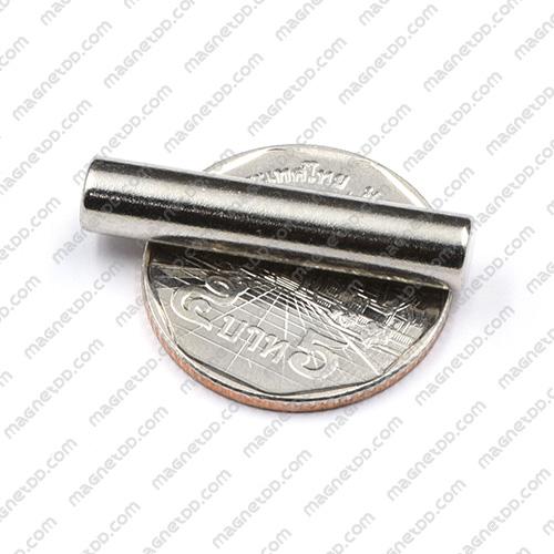 แม่เหล็กแรงสูง Neodymium ขนาด 6mm x 30mm แม่เหล็กถาวรนีโอไดเมี่ยม NdFeB (Neodymium)