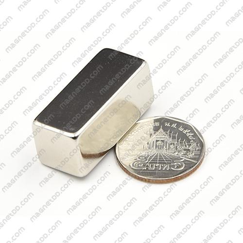 แม่เหล็กแรงสูง Neodymium ขนาด 35mm x 15mm x 15mm แม่เหล็กถาวรนีโอไดเมี่ยม NdFeB (Neodymium)