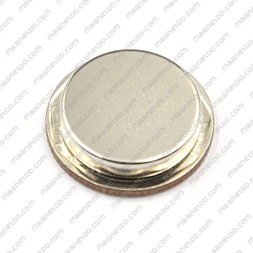 แม่เหล็กแรงสูง Neodymium ขนาด 20mm x 4mm แม่เหล็กถาวรนีโอไดเมี่ยม NdFeB (Neodymium)