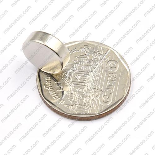 แม่เหล็กแรงสูง Neodymium ขนาด 12mm x 4mm แม่เหล็กถาวรนีโอไดเมี่ยม NdFeB (Neodymium)