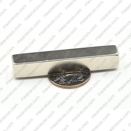 แม่เหล็กแรงสูง Neodymium ขนาด 59mm x 10mm x 10mm แม่เหล็กถาวรนีโอไดเมี่ยม NdFeB (Neodymium)