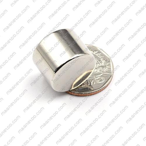 แม่เหล็กแรงสูง Neodymium ขนาด 19.5mm x 14.5mm แม่เหล็กถาวรนีโอไดเมี่ยม NdFeB (Neodymium)