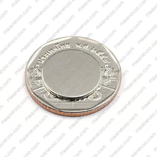 แม่เหล็กแรงสูง Neodymium ขนาด 15mm x 1mm แม่เหล็กถาวรนีโอไดเมี่ยม NdFeB (Neodymium)