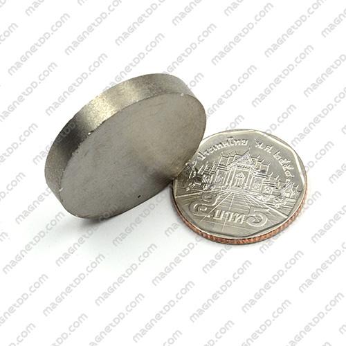แม่เหล็กแรงสูงทนความร้อน Samarium 30mm x 5mm แม่เหล็กแรงสูง ทนความร้อน Samarium Cobalt 350C