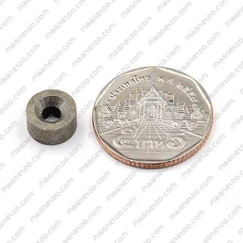 แม่เหล็กแรงสูงทนความร้อน Samarium 10mm x 5mm วงใน 3.5mm แม่เหล็กแรงสูง ทนความร้อน Samarium Cobalt 350C