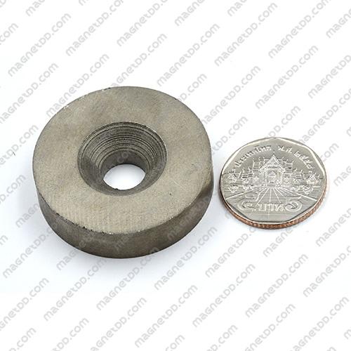แม่เหล็กแรงสูงทนความร้อน Samarium 40mm x 10mm วงใน 10mm แม่เหล็กแรงสูง ทนความร้อน Samarium Cobalt 350C