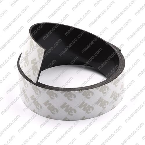 แม่เหล็กยางสติกเกอร์ 3M ขนาด 30mm x 1.5mm ยาว 1เมตร แม่เหล็กถาวรยาง Flexible Rubber Magnets