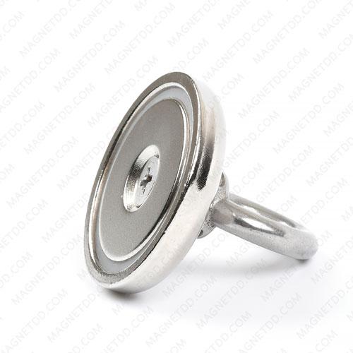Mounting Magnet ขนาด 42mm พร้อมห่วง แม่เหล็กถาวรนีโอไดเมี่ยม NdFeB (Neodymium)