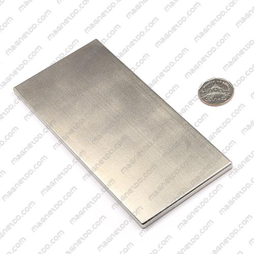 แม่เหล็กแรงสูง Neodymium ขนาด 150mm x 70mm x 5mm แม่เหล็กถาวรนีโอไดเมี่ยม NdFeB (Neodymium)