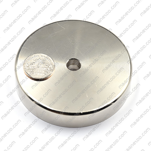 Neodymium Magnetic Cups ขนาด 90mm x 18mm รู 10mm แม่เหล็กถาวรนีโอไดเมี่ยม NdFeB (Neodymium)