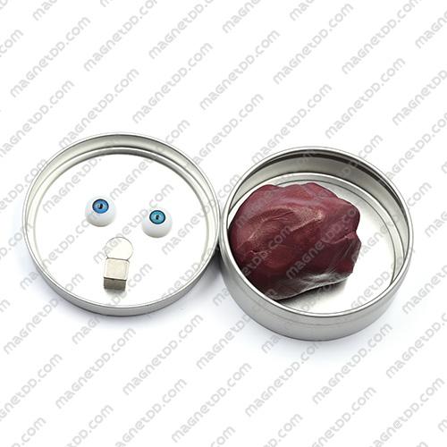 แม่เหล็กดินน้ำมัน Magnetic Putty – สีม่วง