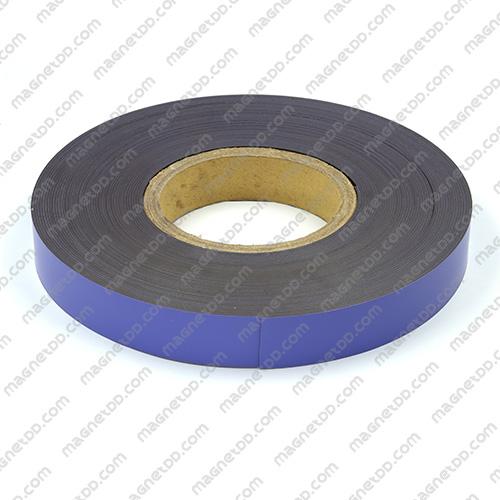 แม่เหล็กยาง ขนาด 25mm x 1mm ยาว 18เมตร ยกม้วน - สีม่วง แม่เหล็กถาวรยาง Flexible Rubber Magnets