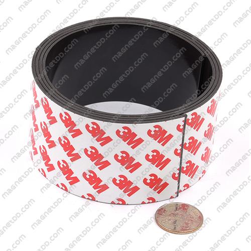 แม่เหล็กยางสติกเกอร์ 3M ขนาด 50mm x 1.5mm ยาว 1เมตร แม่เหล็กถาวรยาง Flexible Rubber Magnets