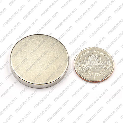 แม่เหล็กแรงสูง Neodymium ขนาด 35mm x 5mm แม่เหล็กถาวรนีโอไดเมี่ยม NdFeB (Neodymium)