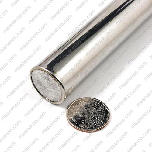 แมกเนติกบาร์ ขนาด 25mm x 500mm Magnetic Bar 10000G แม่เหล็กถาวรนีโอไดเมี่ยม NdFeB (Neodymium)
