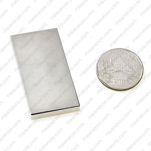 แม่เหล็กแรงสูง Neodymium ขนาด 50mm x 25mm x 5mm แม่เหล็กถาวรนีโอไดเมี่ยม NdFeB (Neodymium)