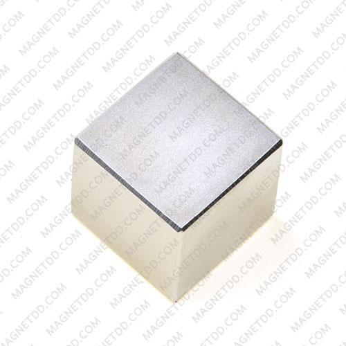 แม่เหล็กแรงสูง Neodymium ขนาด 24.50mm x 24.50mm x 24.50mm แม่เหล็กถาวรนีโอไดเมี่ยม NdFeB (Neodymium)